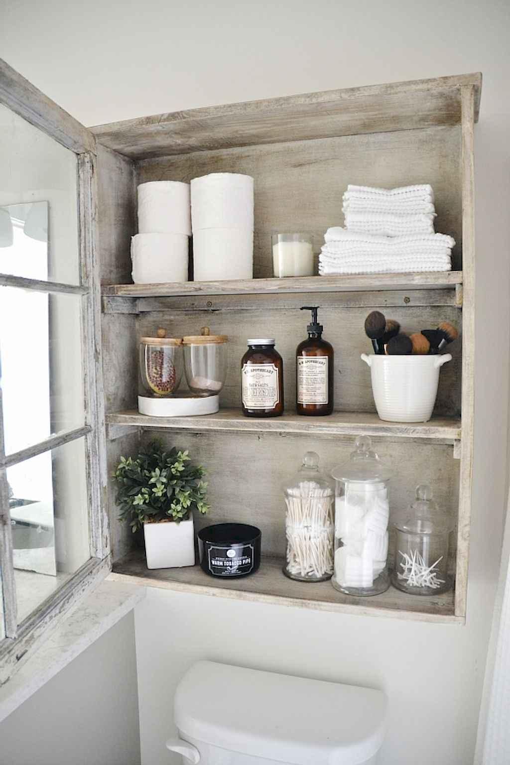 110 best farmhouse bathroom decor ideas (74)