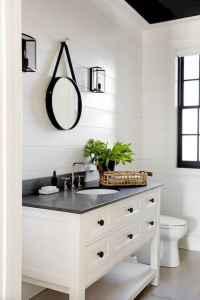 110 best farmhouse bathroom decor ideas (9)