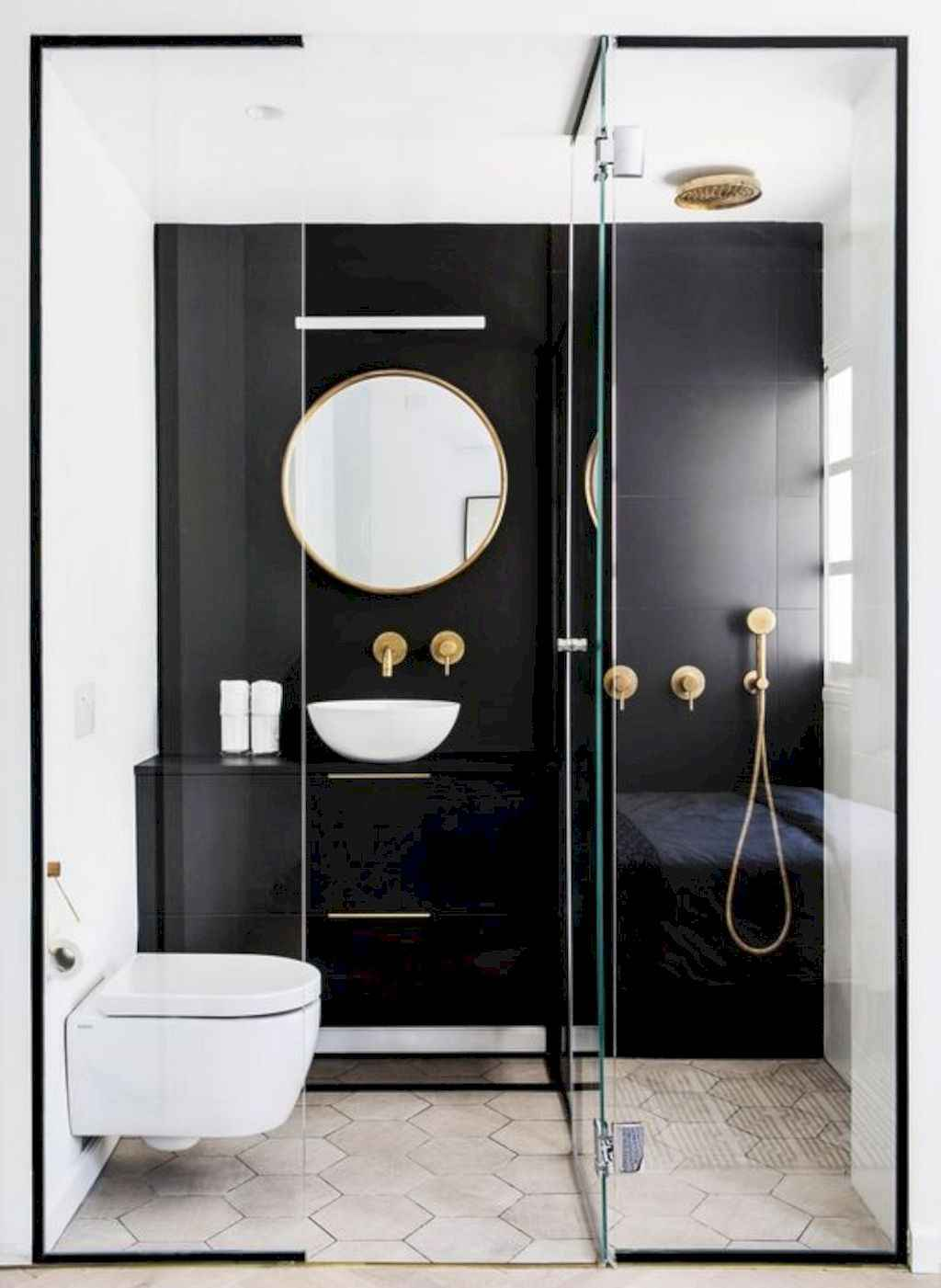 111 awesome small bathroom remodel ideas on a budget (100)