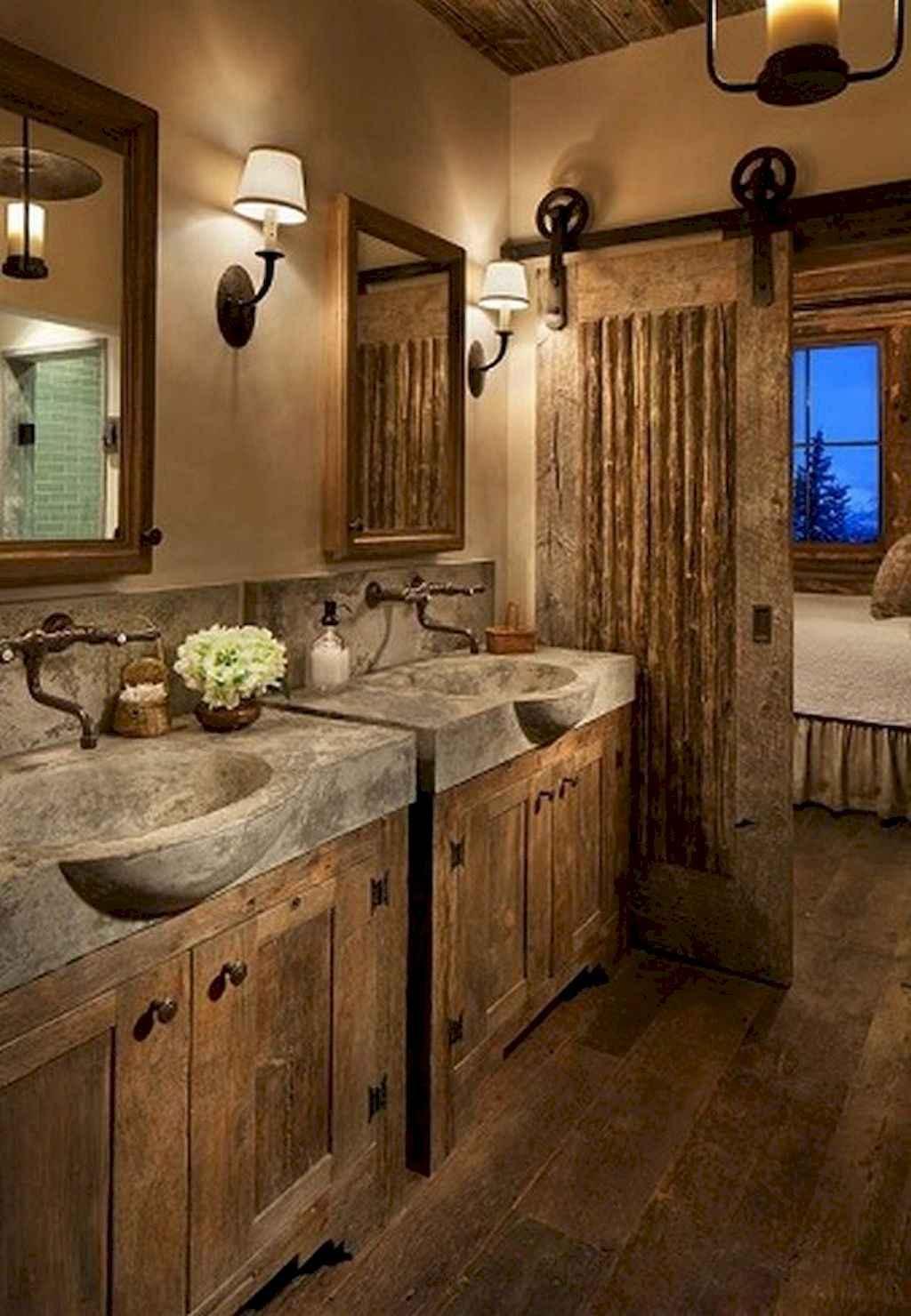 125 awesome farmhouse bathroom vanity remodel ideas (1)