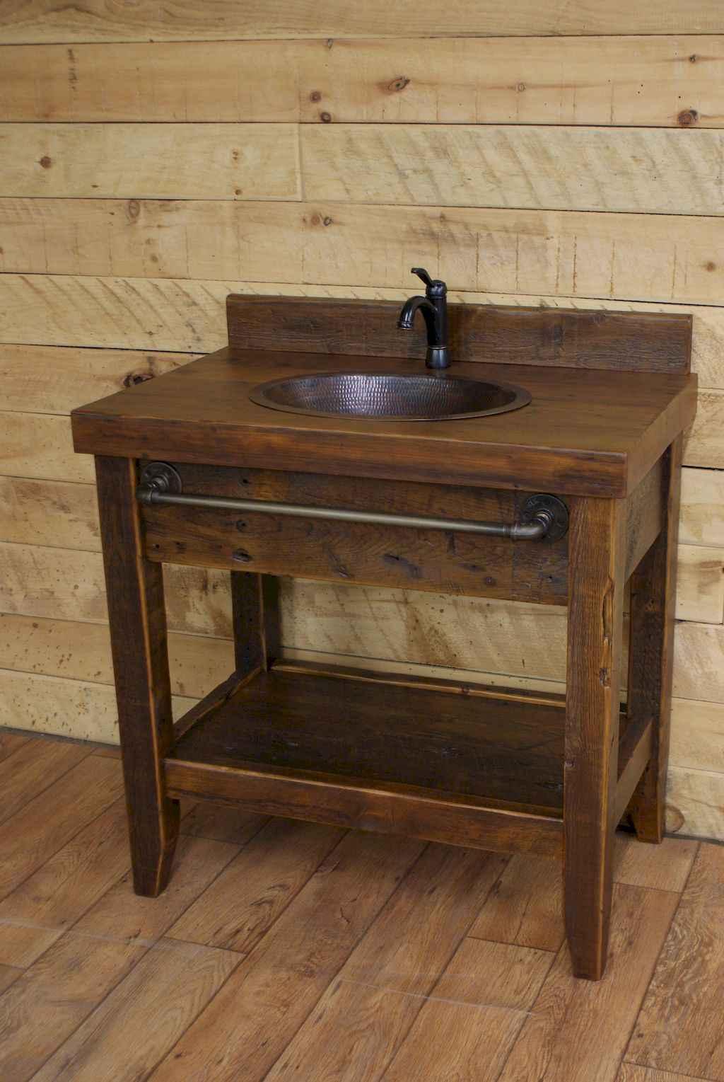 125 awesome farmhouse bathroom vanity remodel ideas (108)
