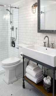 125 awesome farmhouse bathroom vanity remodel ideas (110)
