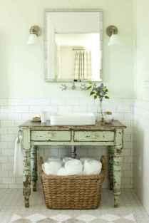 125 awesome farmhouse bathroom vanity remodel ideas (24)