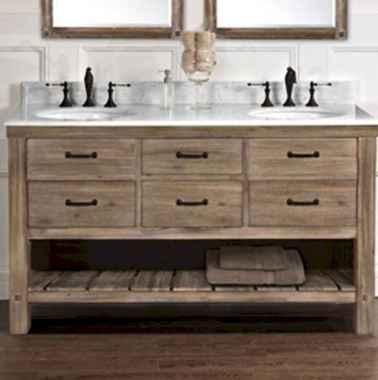 125 awesome farmhouse bathroom vanity remodel ideas (59)