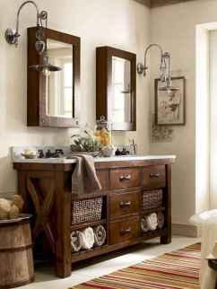 125 awesome farmhouse bathroom vanity remodel ideas (6)