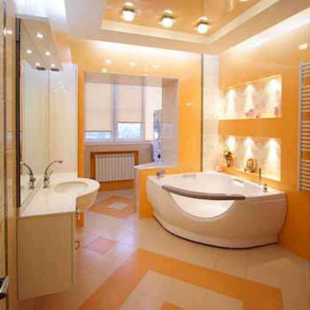 55 cool and relax bathroom design ideas (49)