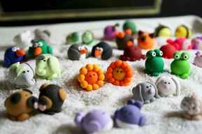 70 inspiring diy polymer clay figure ideas (59)
