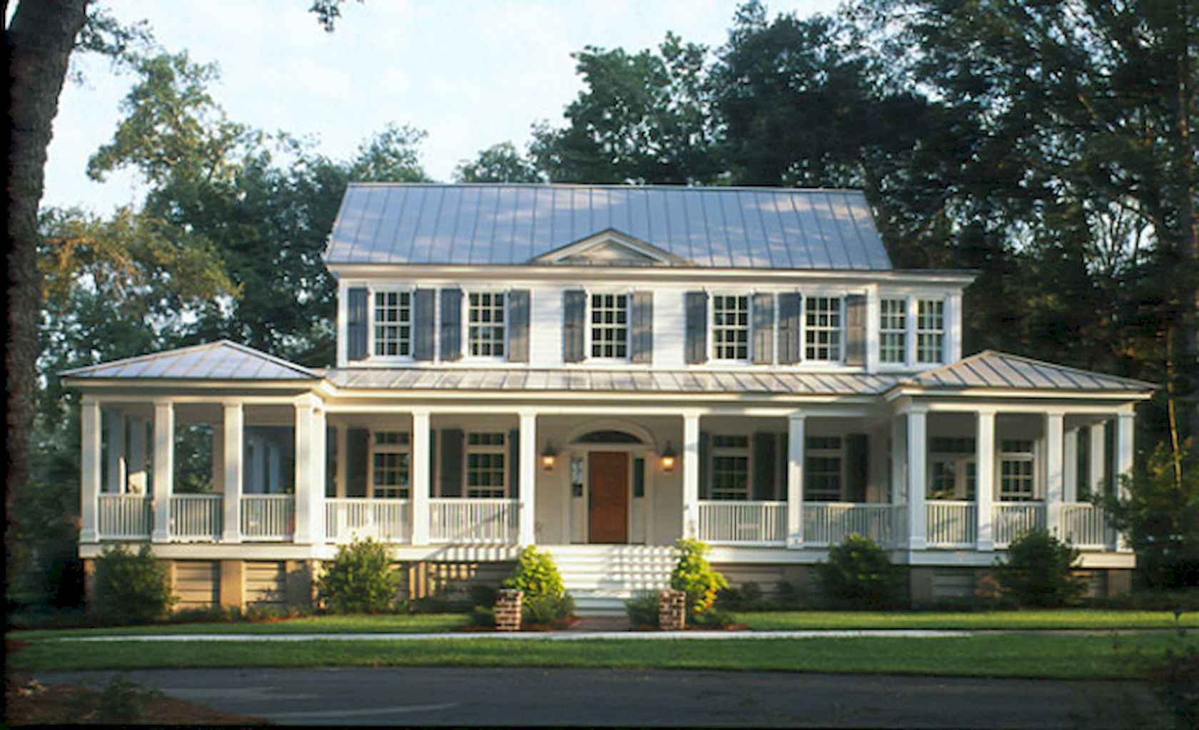 80 awesome plantation homes farmhouse design ideas (16)