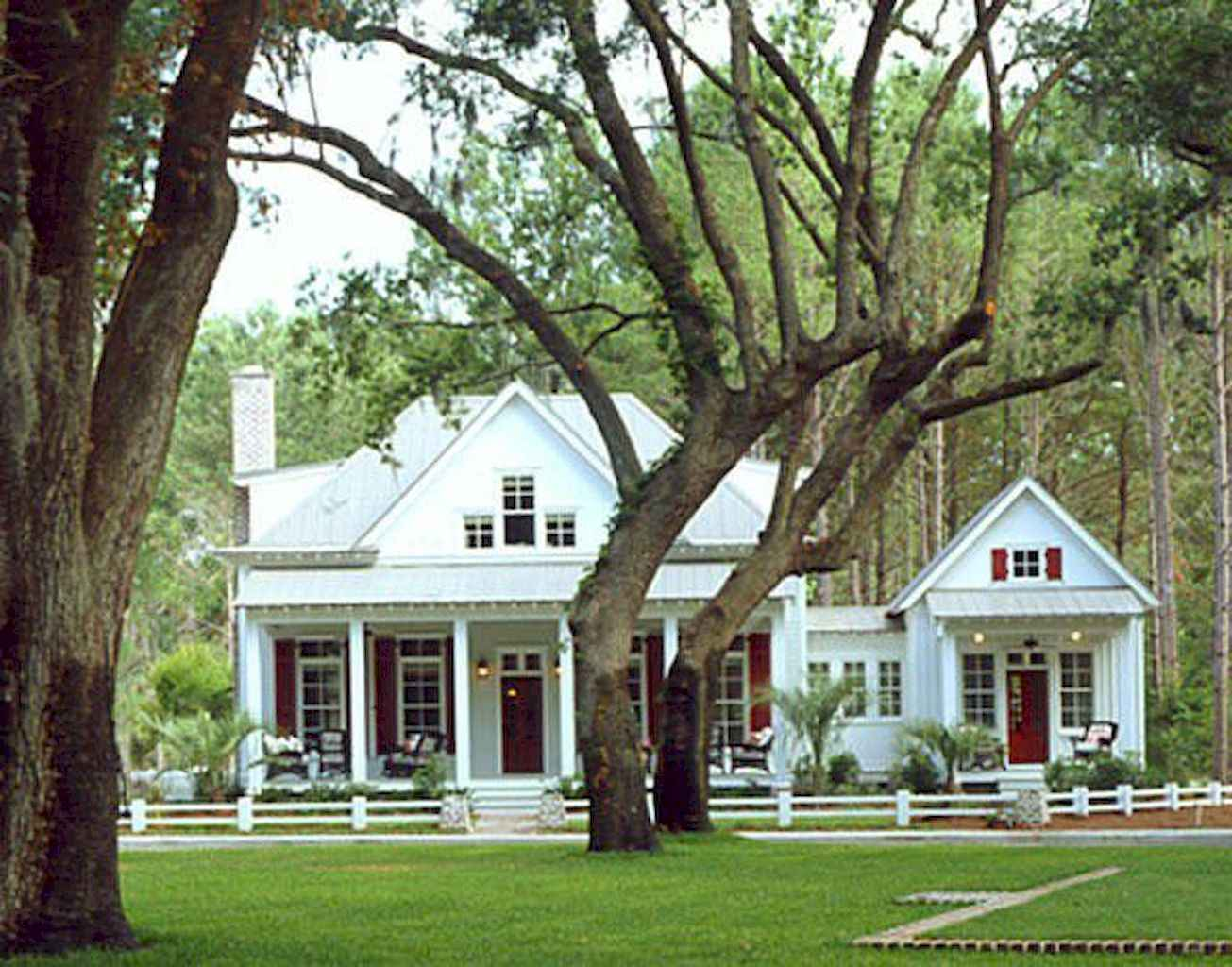 80 awesome plantation homes farmhouse design ideas (18)