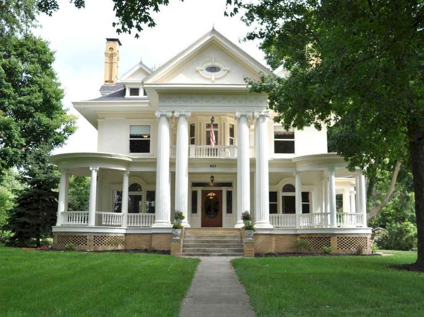 80 awesome plantation homes farmhouse design ideas (23)