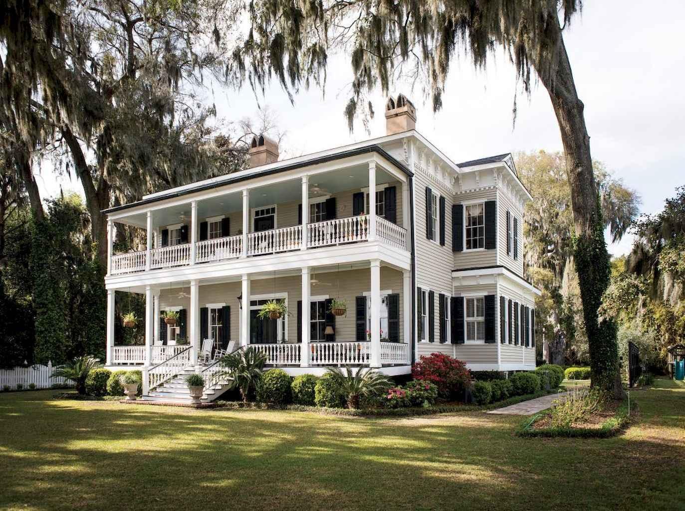 80 awesome plantation homes farmhouse design ideas (41)