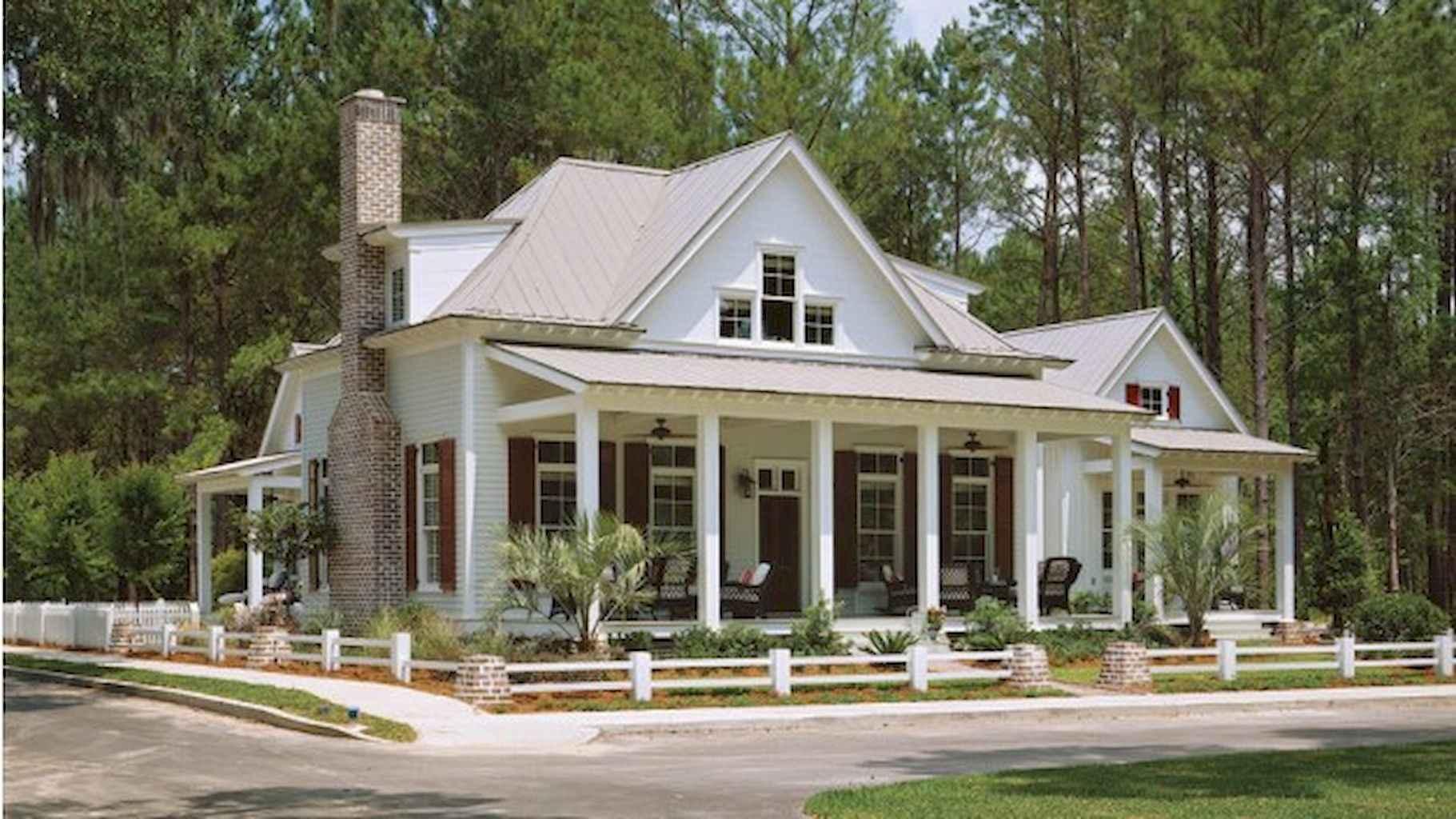 80 awesome plantation homes farmhouse design ideas (60)