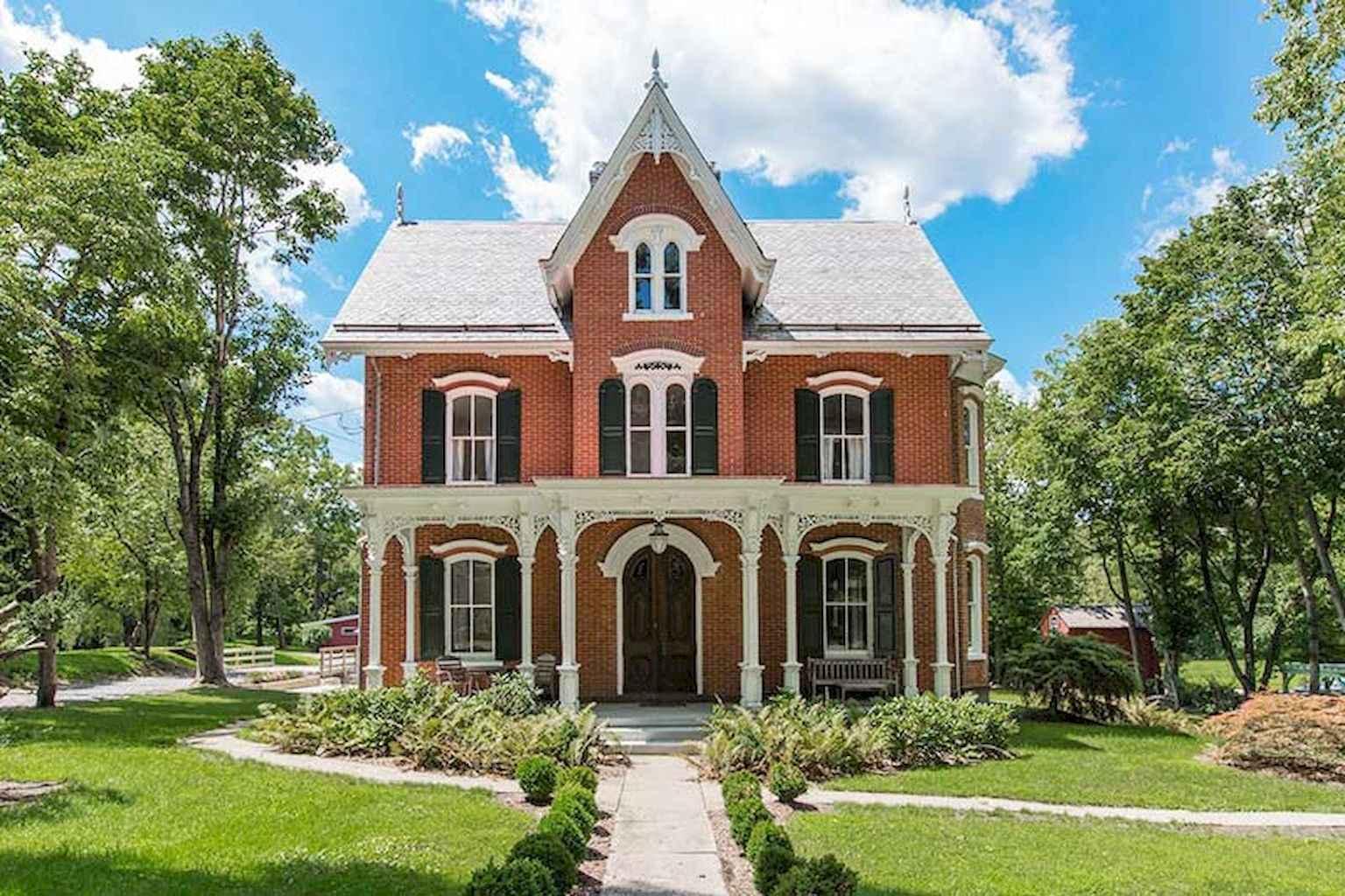 80 awesome victorian farmhouse plans design ideas (15)