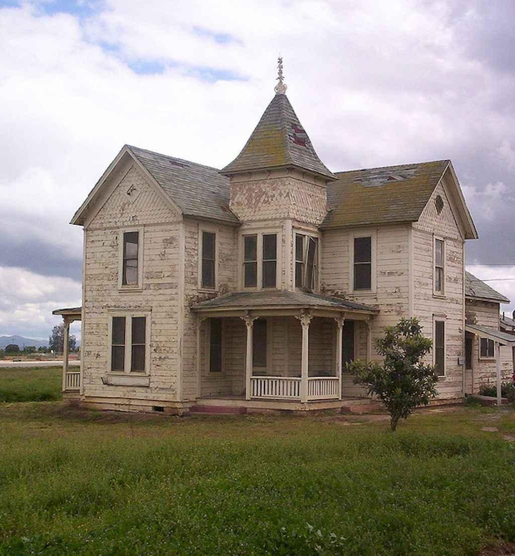 80 awesome victorian farmhouse plans design ideas (23)