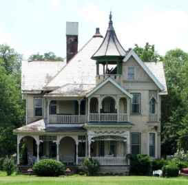 80 awesome victorian farmhouse plans design ideas (35)