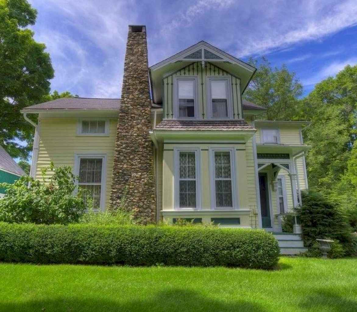 80 awesome victorian farmhouse plans design ideas (37)
