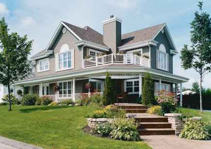 80 awesome victorian farmhouse plans design ideas (67)