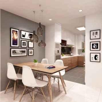 80 brilliant apartment dining room decor ideas (16)