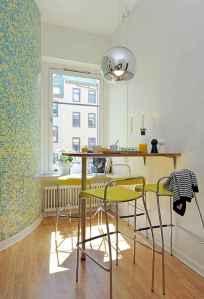 80 brilliant apartment dining room decor ideas (20)