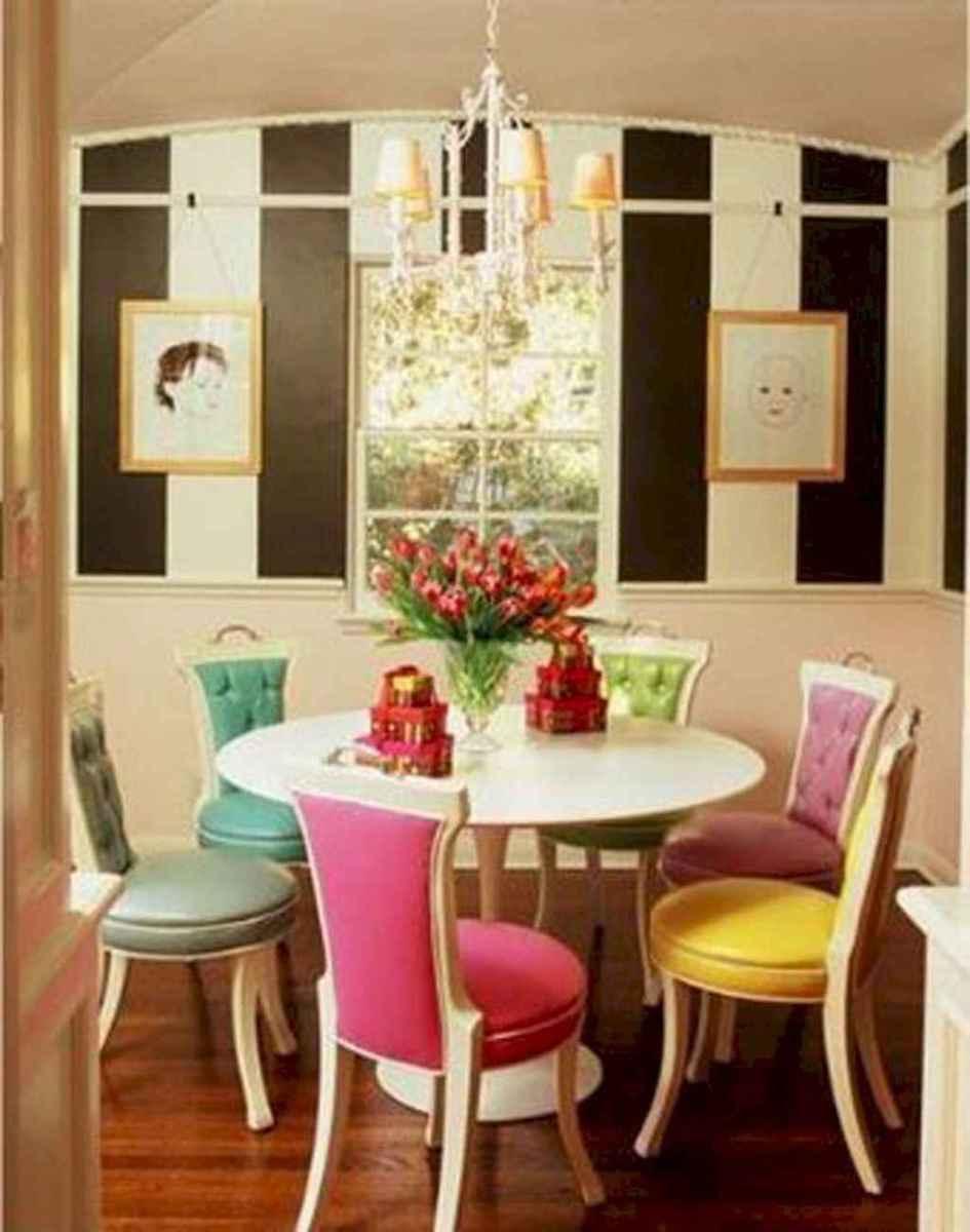 80 brilliant apartment dining room decor ideas (28)