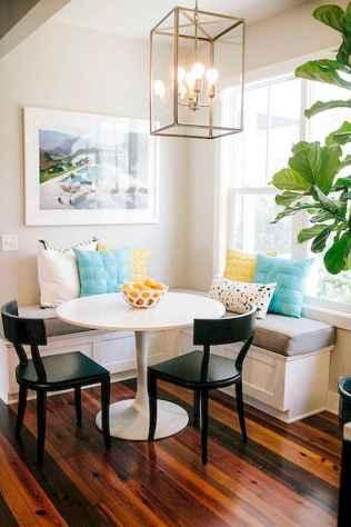 80 brilliant apartment dining room decor ideas (30)