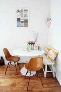 80 brilliant apartment dining room decor ideas (48)