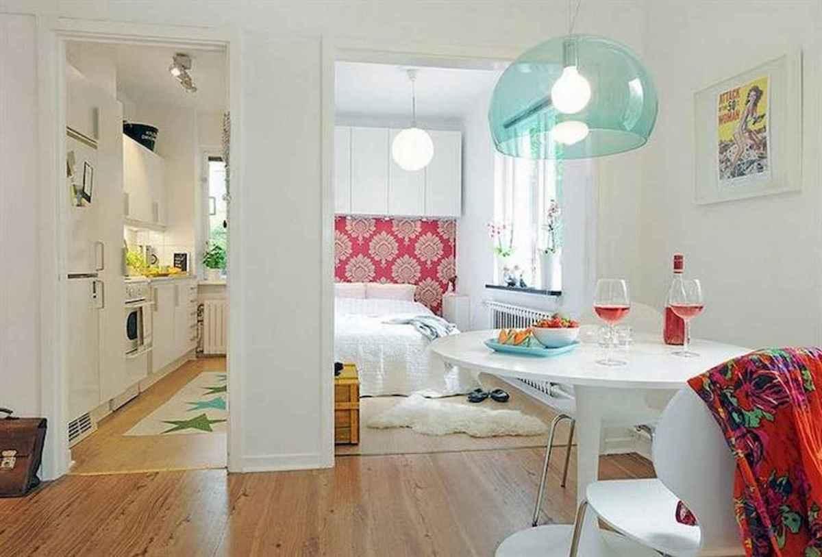 80 brilliant apartment dining room decor ideas (55)
