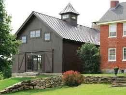 35 handsome black house exterior decor ideas (25)