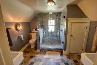 Top 25 farmhouse master bathroom decor ideas (17)