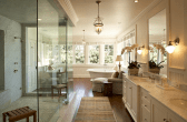 Top 25 farmhouse master bathroom decor ideas (2)