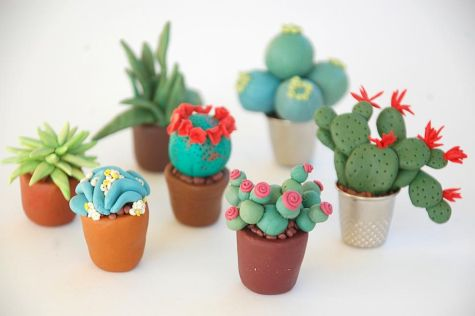 25 easy to try diy polymer clay cactus design ideas (1)