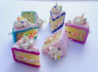 25 easy to try diy polymer clay cake design ideas (23)