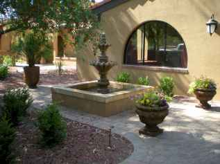 30 beautiful backyard ideas water fountains design and makeover (26)