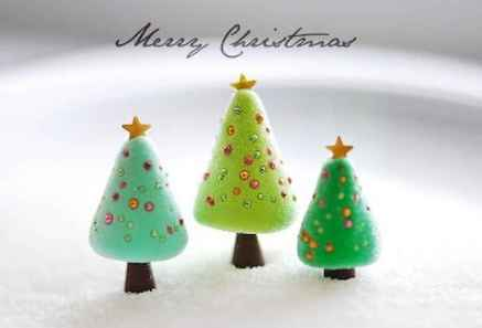 50 easy to try diy polymer clay christmas design ideas (1)