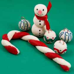 50 easy to try diy polymer clay christmas design ideas (24)