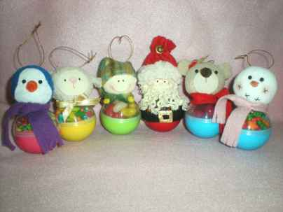 50 easy to try diy polymer clay christmas design ideas (27)