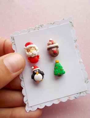 50 easy to try diy polymer clay christmas design ideas (32)