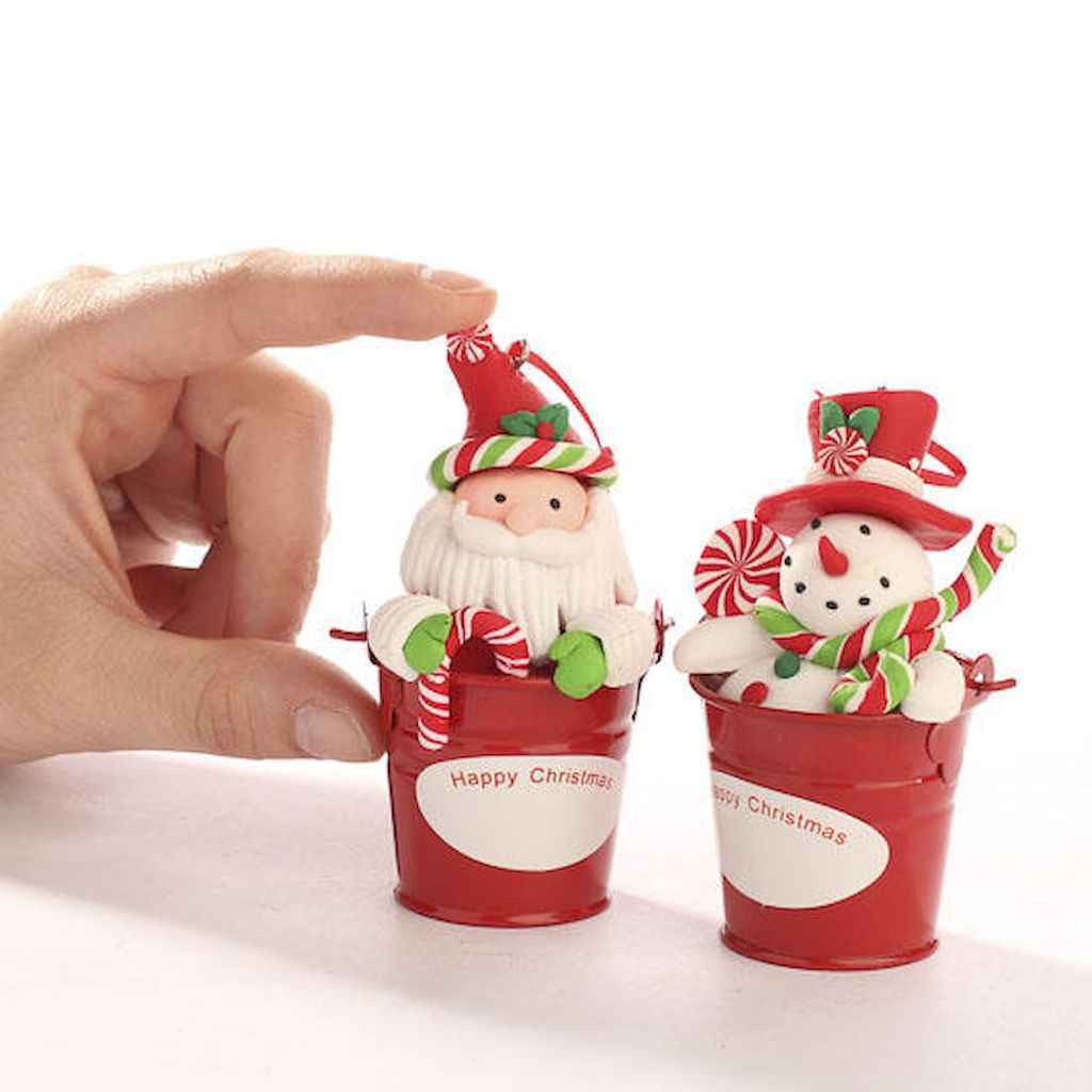 50 easy to try diy polymer clay christmas design ideas (40)