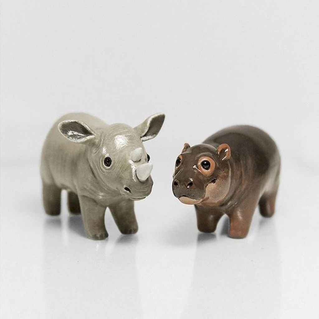55 easy to try diy polymer clay animals design ideas (11)