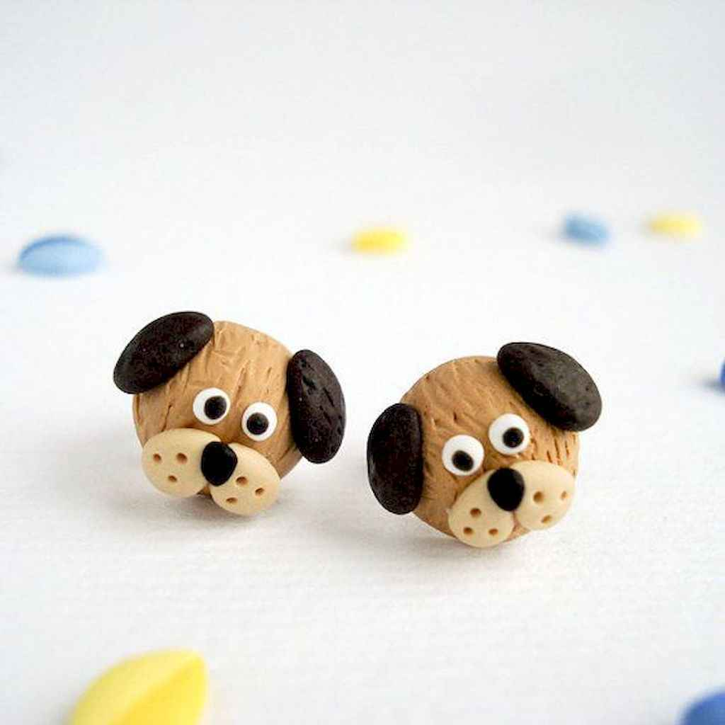 55 easy to try diy polymer clay animals design ideas (9)