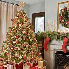 100 beautiful christmas tree decorations ideas (57)