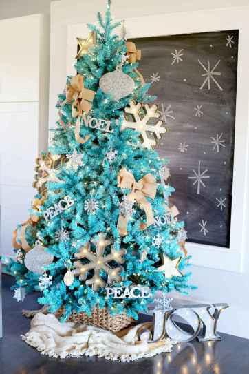 100 beautiful christmas tree decorations ideas (59)