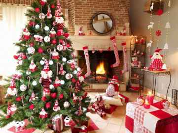 100 beautiful christmas tree decorations ideas (67)