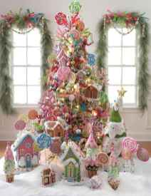 100 beautiful christmas tree decorations ideas (80)
