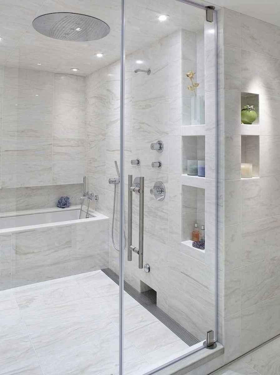 100 best farmhouse bathroom tile shower decor ideas and remodel to inspiring your bathroom (19)