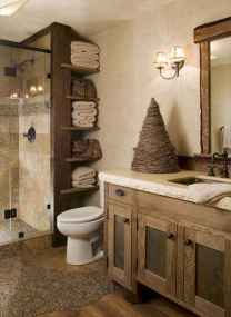 100 best farmhouse bathroom tile shower decor ideas and remodel to inspiring your bathroom (20)