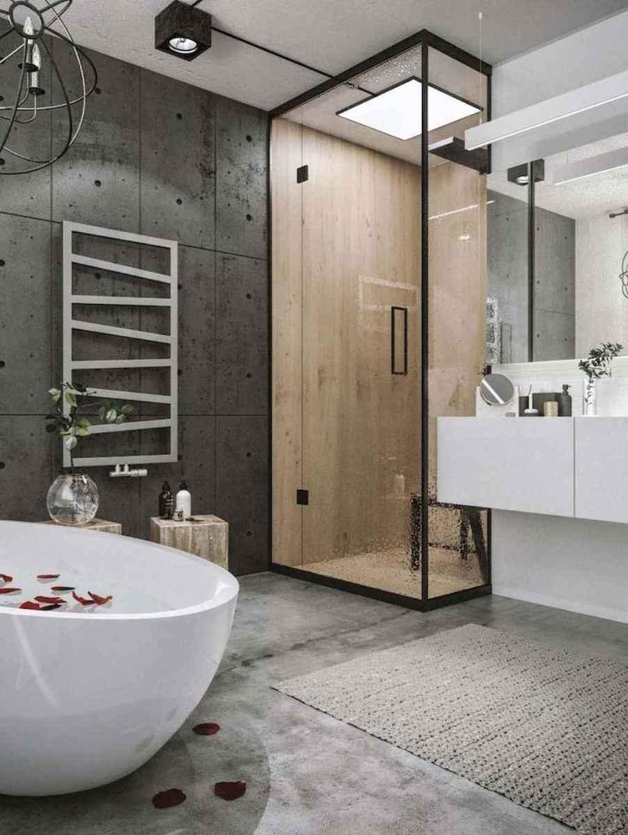 100 best farmhouse bathroom tile shower decor ideas and remodel to inspiring your bathroom (24)