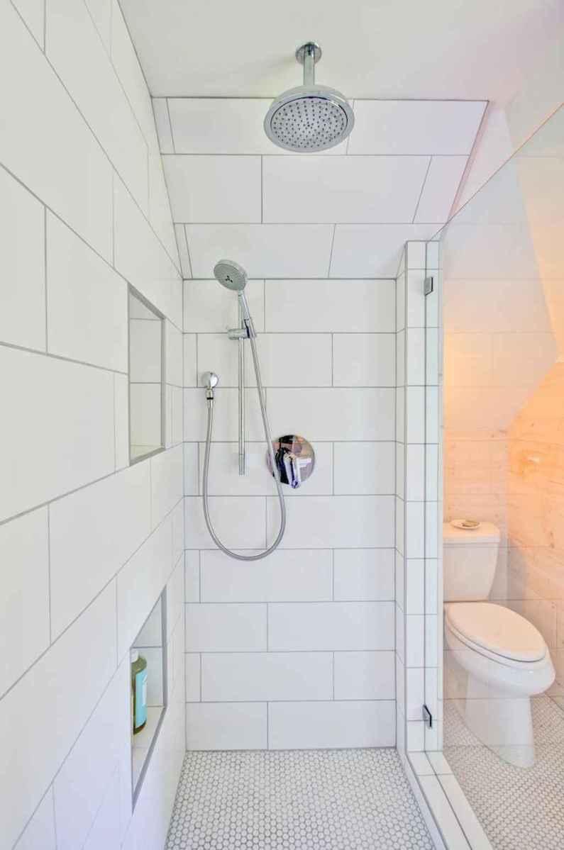 100 best farmhouse bathroom tile shower decor ideas and remodel to inspiring your bathroom (30)