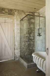 100 best farmhouse bathroom tile shower decor ideas and remodel to inspiring your bathroom (34)