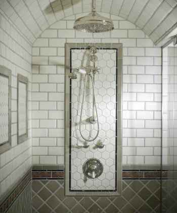 100 best farmhouse bathroom tile shower decor ideas and remodel to inspiring your bathroom (54)
